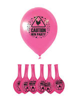 Balloons Hen Party With Print