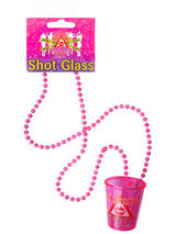 Shot Glass Hen Party With Necklace