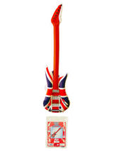 Guitar Union Jack - Inflatable