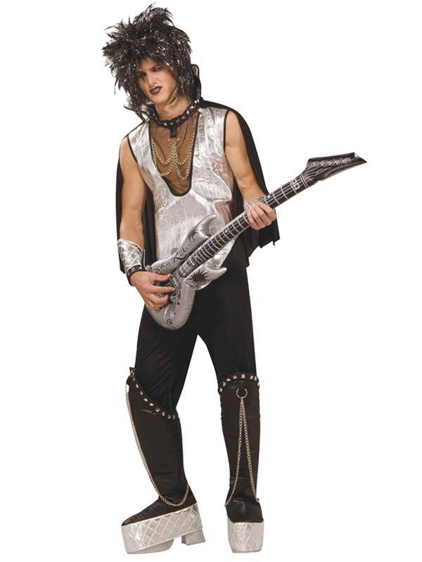 1970s glam rock jumpsuit adult costume fancy dress costume