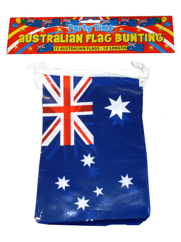 Australia Bunting With PVC Flags