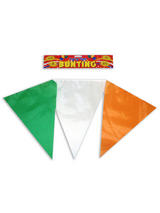Republic Ireland Eire Bunting With Nylon Flags