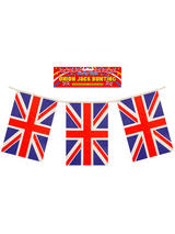 Union Jack Bunting With PVC Flags
