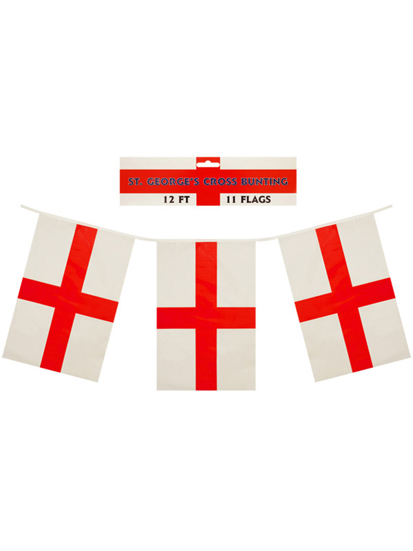 Football Bunting With PVC Flags