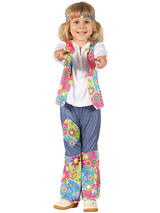Child Hippy Costume