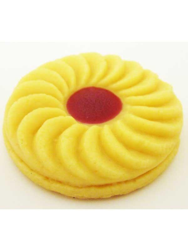 Imitation Jammy Dodger Biscuit