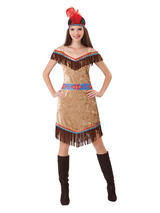 Deluxe Indian Lady Costume