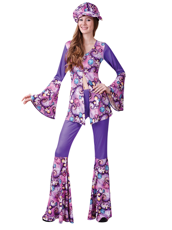 Groovy Hippy Woman Costume