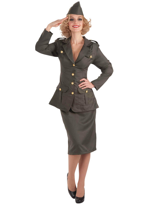 WW1 Army Gal Costume