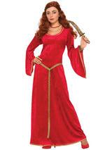 Ruby Sorceress Dress Costume