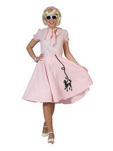 Poodle Dress Pink