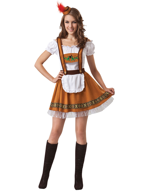 German Country Bar Girl Costume