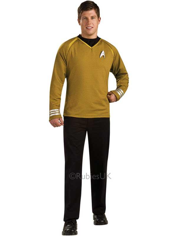 Captain Kirk Deluxe Costume Top