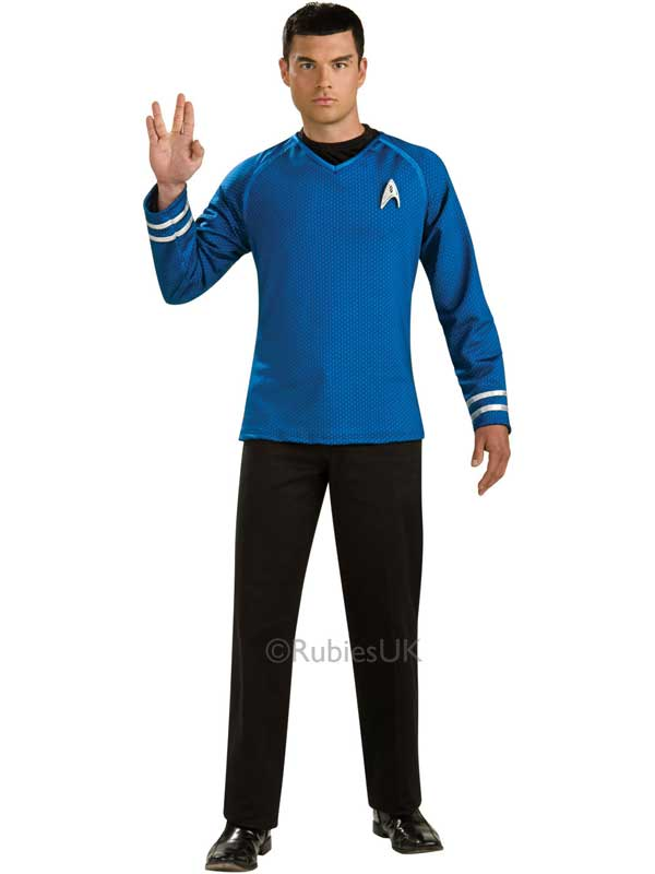 Mr Spock Deluxe Costume Top