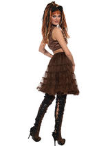 Crinoline Brown Steampunk Costume