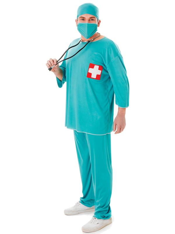 Surgeon Scrubs Costume