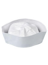 Adult Sailor Doughboy Hat (White)
