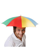 Adult Mens Hat Umbrella