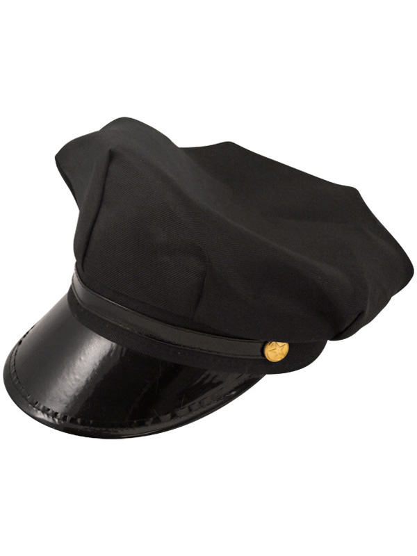 Adult Hat Chauffeur Black