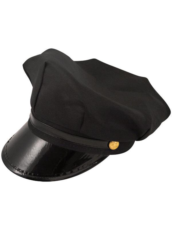 Adult Hat Chauffeur Black