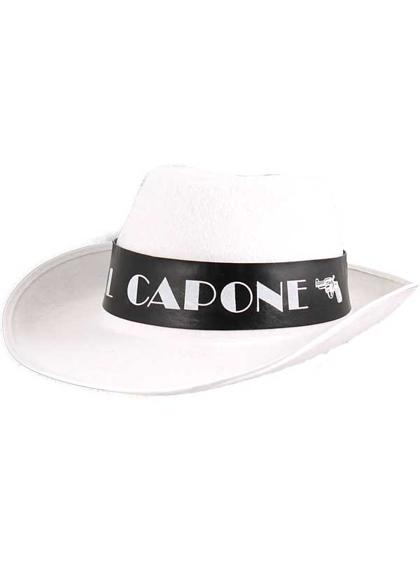 Adult Mens Al Capone Gangster Hat