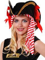 Adult Ladies Pirate Hat with Bandana