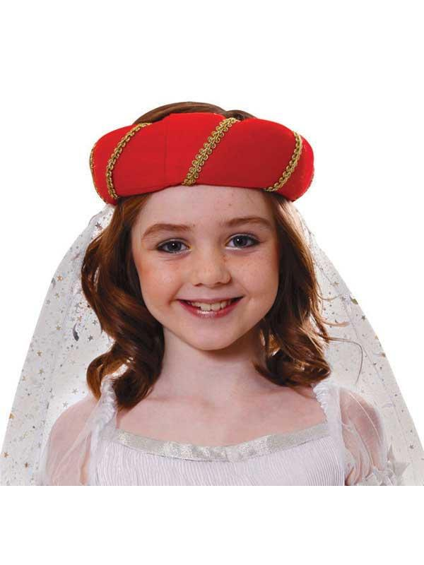 Child Tudor Princess Hat Thumbnail 1