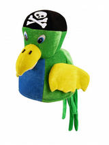 Adult Mens Hat Parrot Pirate
