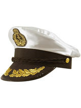 Adult Hat Captain Satin