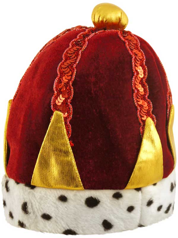 Adult Mens Tudor Kings Crown