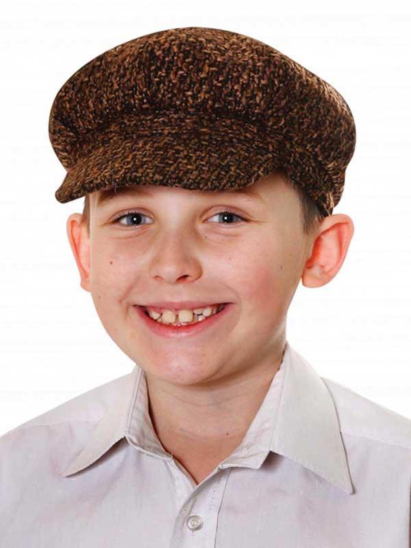 Child Victorian Flat Cap Hat Thumbnail 1
