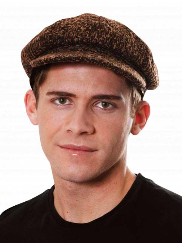 Adult Victorian Flat Cap Hat Thumbnail 1