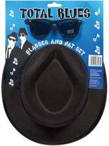 Hat Blues With Glasses