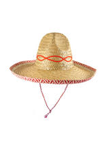 Adult Hat Straw Sombrero