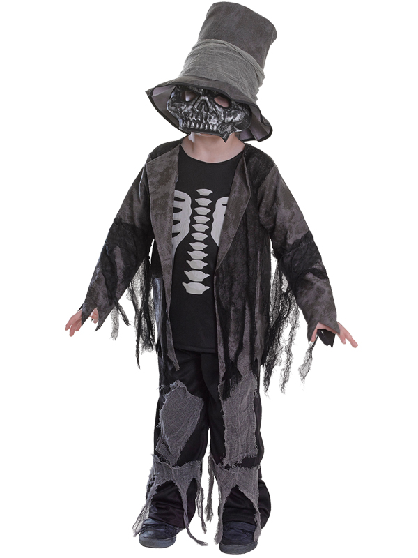 Child Boys Grave Digger Costume