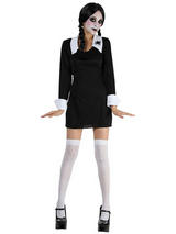 Child Girls Creepy Schoolgirl Costume