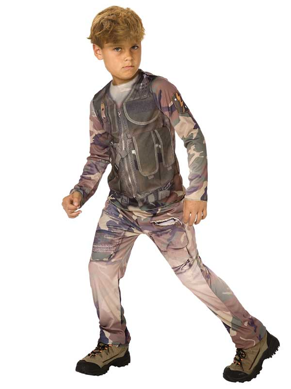 Child Soldier D Costume