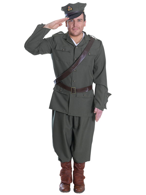 WW1 Army Officer Costume