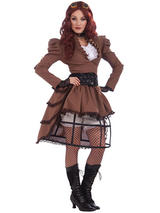 Steampunk Vicky Costume Hoop Skirt