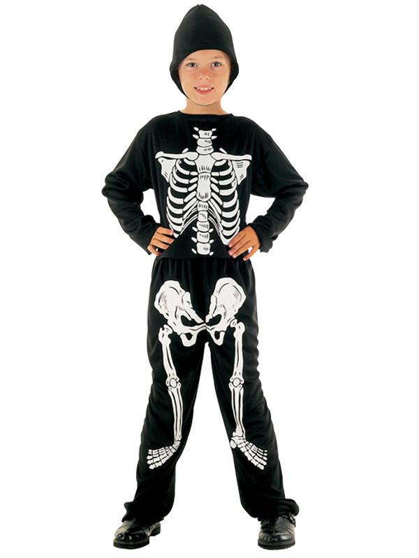 Child Boys Skeleton Budget Costume