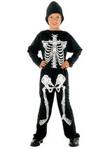Child Boys Skeleton Budget Costume