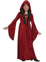 Child Girls Gothic Vampiress Costume