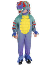 Child Colourful T Rex Tyrannosaurus Costume