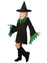Child Girls Witch Costume