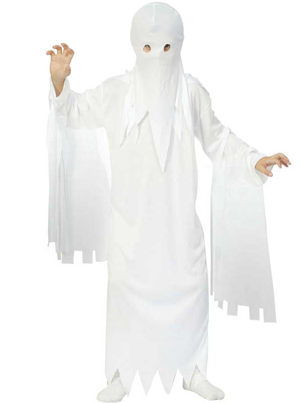 Child Ghost Costume  sc 1 st  Plymouth Fancy Dress & Child Ghost Costume | Boys Costumes | Plymouth Fancy Dress Costumes ...