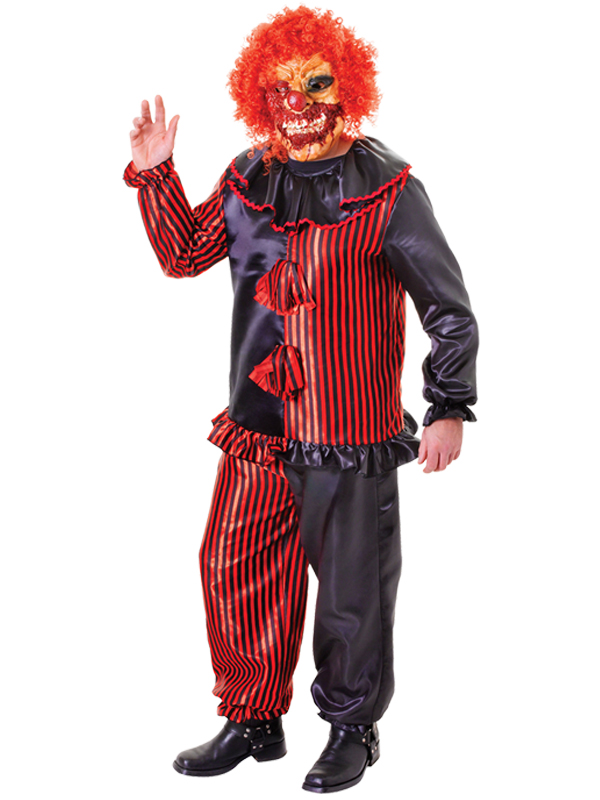 Zombie Clown Costume & Mask