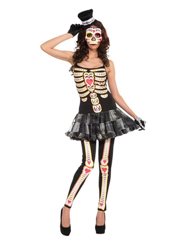Day Of The Dead Tutu Dress Costume