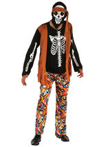 Skeleton Hippy Costume