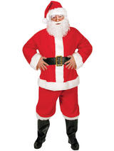 Santa Suit Piece Budget Costume