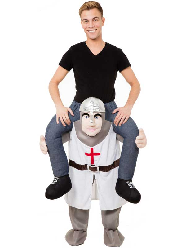 Piggy Back Crusader Costume